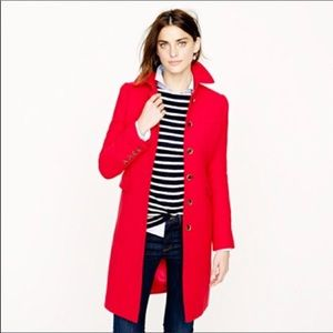 J. Crew Double-cloth metro coat with Thinsulate®